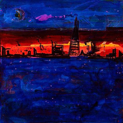 Shard Sunset