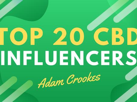 Top 20 CBD Influencers For CBD Oil Brands On Instagram & Facebook