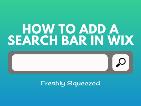 How To Add A Search Bar In Wix (Quick Guide 2020)