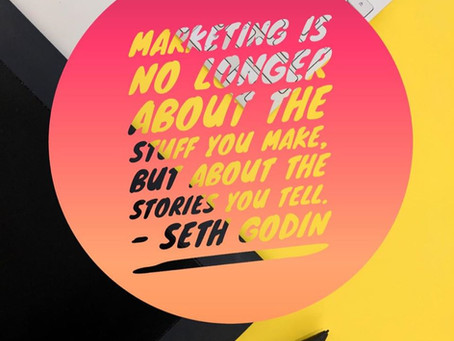 Marketing is About Storytelling