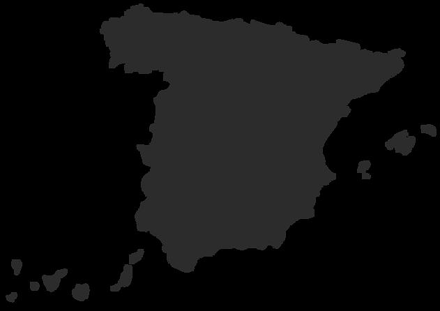 Mapa Spain Comunidades (Gris).png