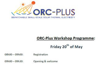 First 2016 ORC-PLUS workshop