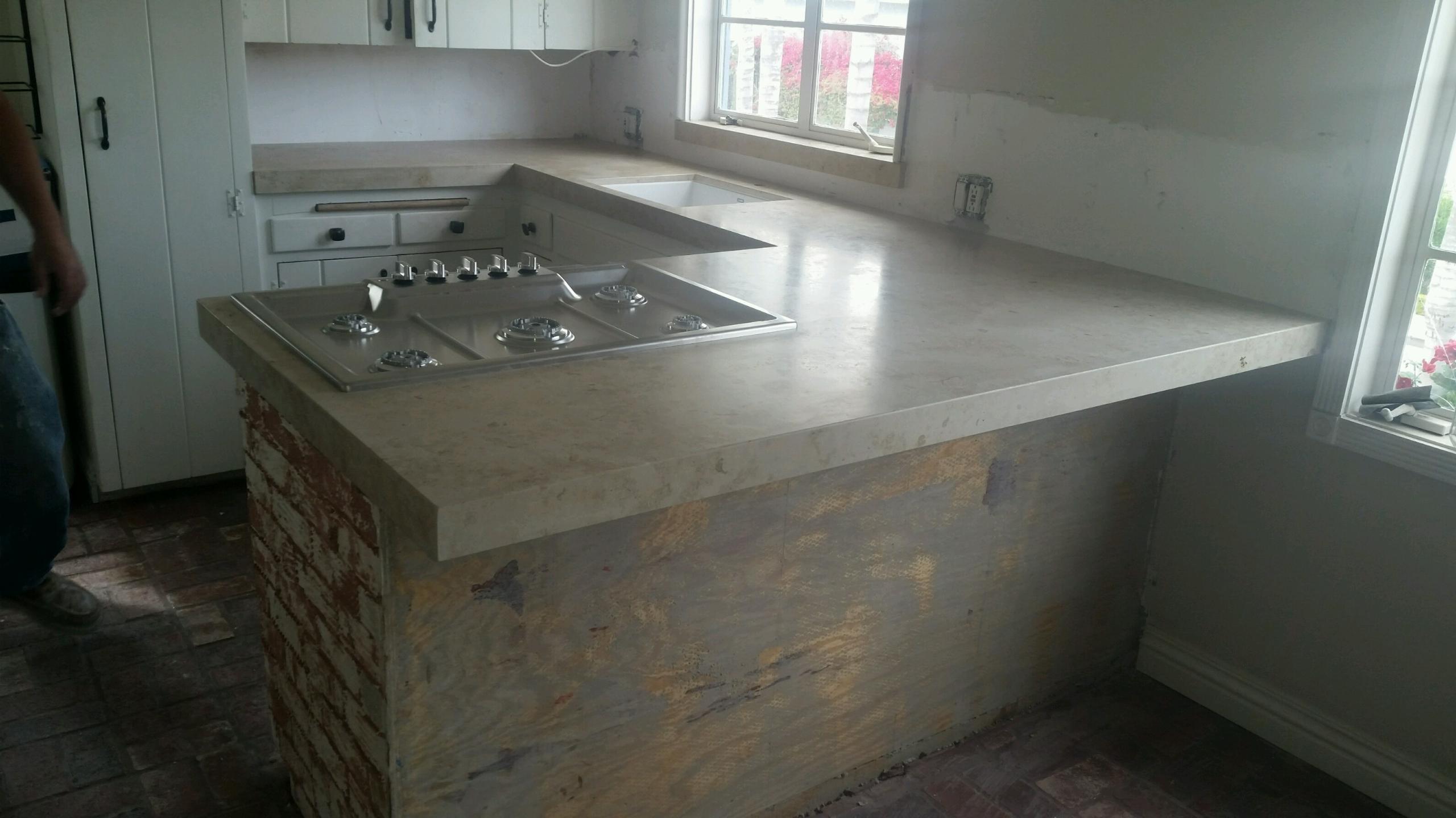 Limestone top