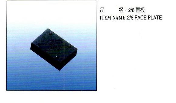 2/8 面板 Face Plate
