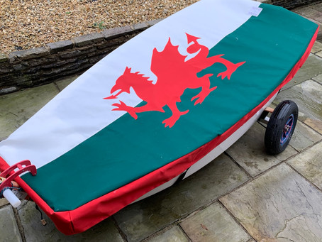 Optimist Bespoke Flag Covers