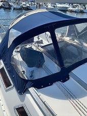 Yacht Spray hood