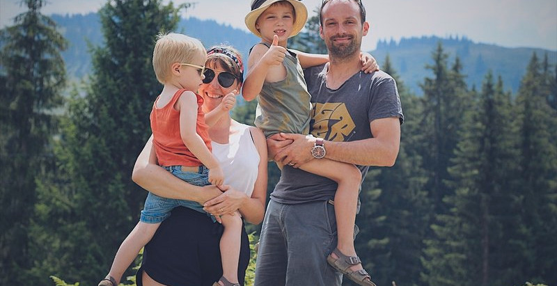 Onze vakantie in de Alpen was weer boenk erop!