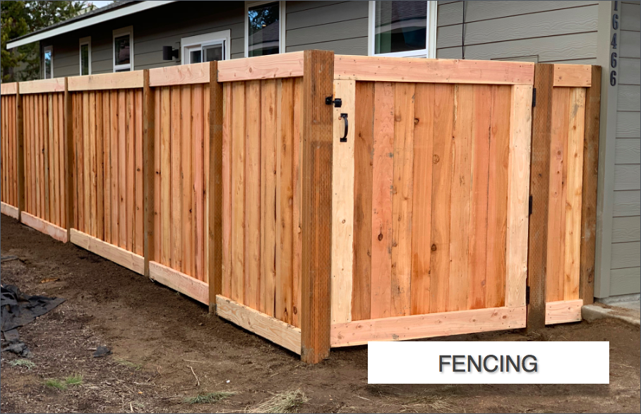 Fencing In La Pine Elite Landscaping Car