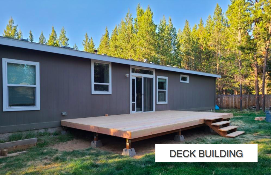 Deck Building In La Pine Elite Landscapi
