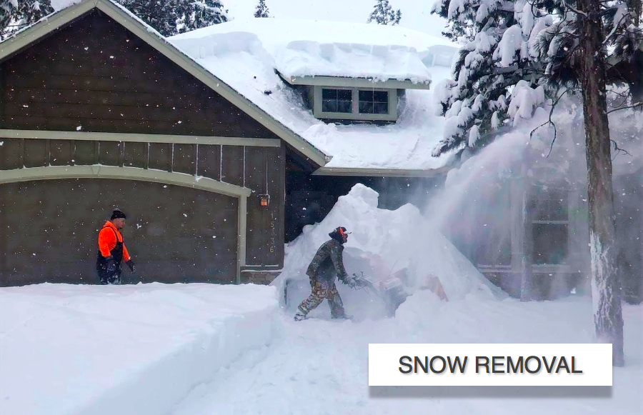Snow Removal In La Pine Elite Landscapin