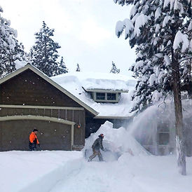 Residential Snow Removal in La Pine Elit