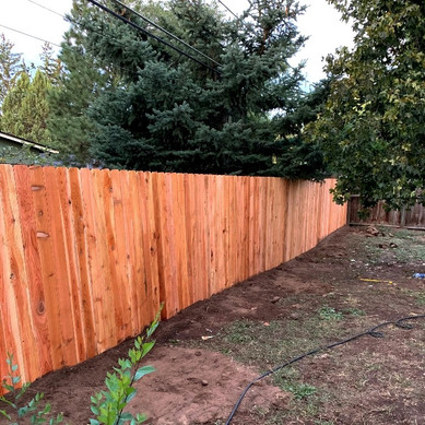 Wood Fencing La Pine Elite Landscaping.j