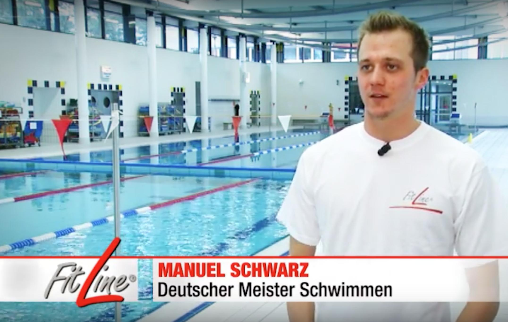 Schwimmen Manuel Schwarz Deutscher Meist