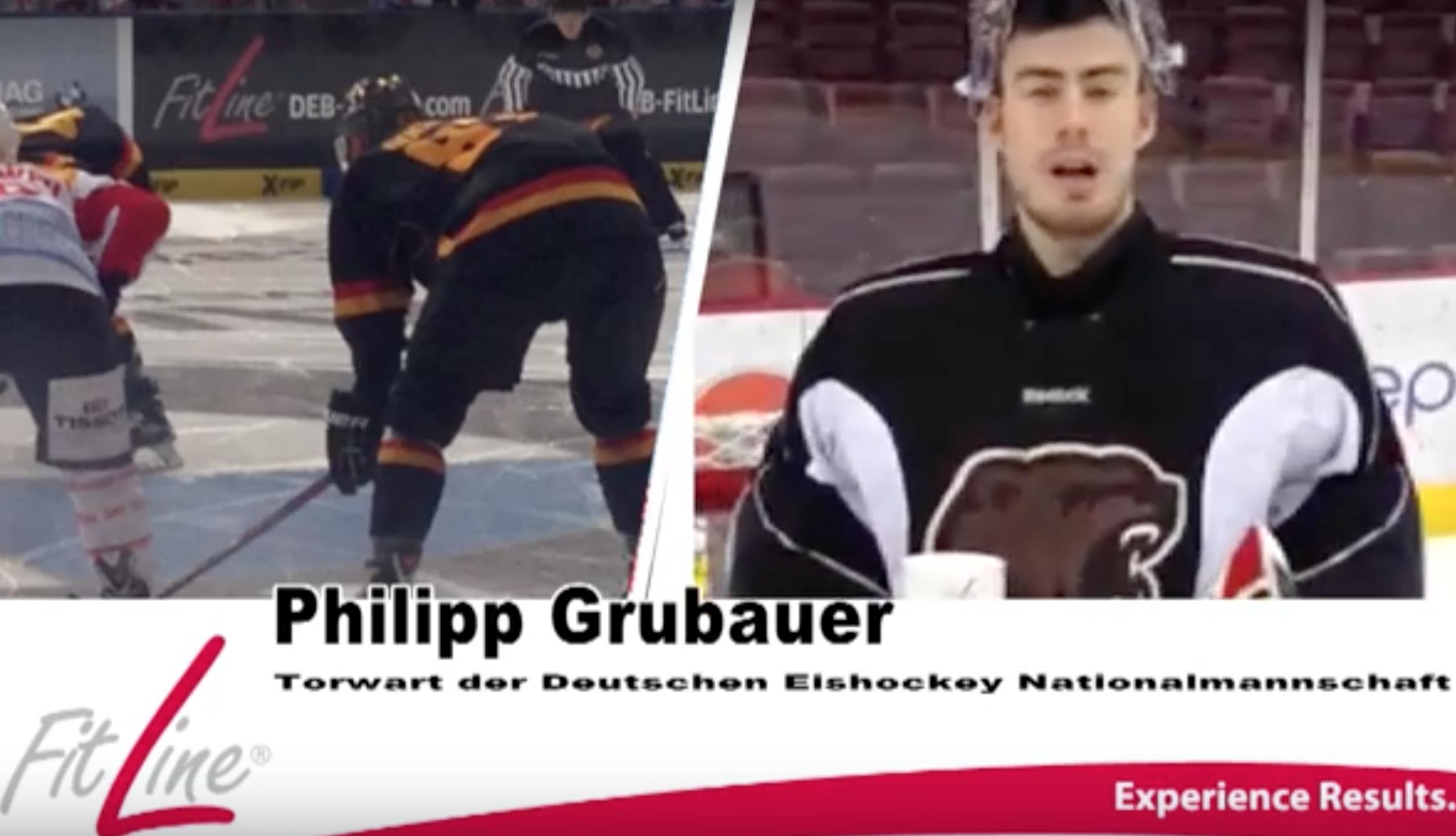 Philipp Grubauer Torwart der Deutschen E