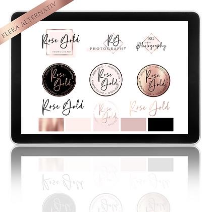 Logotyppaket ROSE GOLD