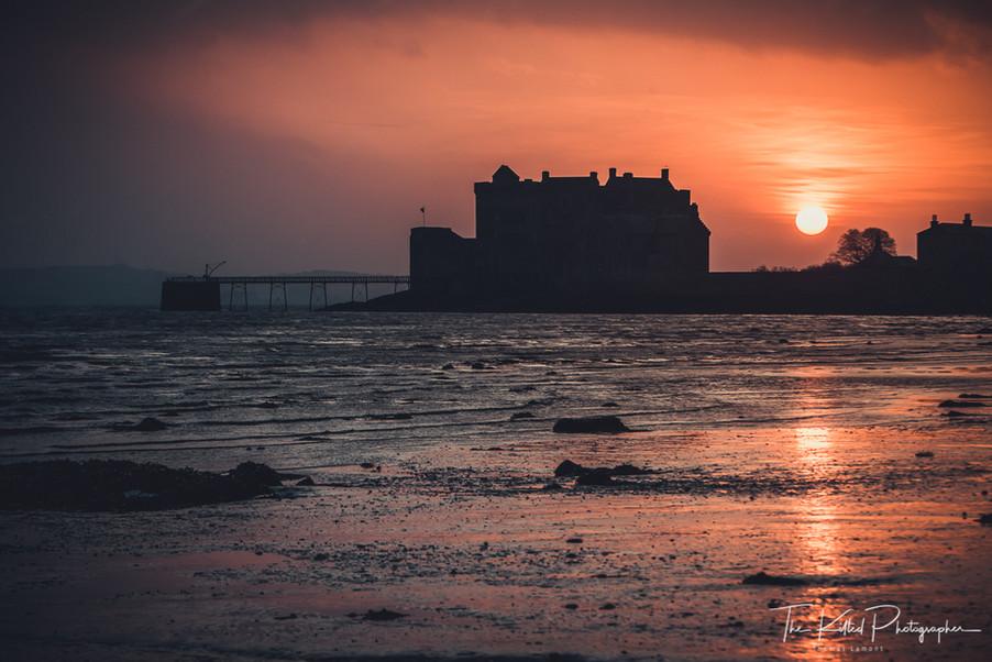 Blackness Castle at Sunrise