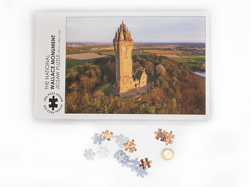 The National Wallace Monument Jigsaw - 1000 piece