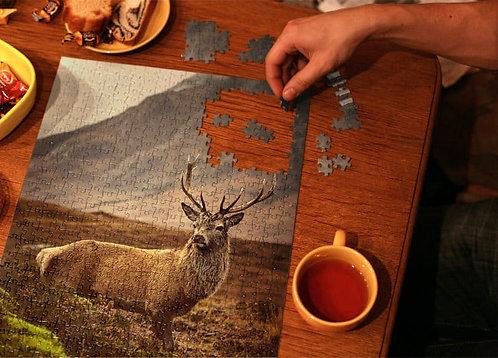 Mighty Stag Jigsaw - 1000 piece