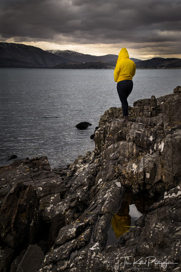 Overlooking the Loch