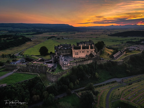 Stirling Castle at Sunrise