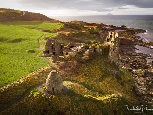Dunure Castle | The Kilted Photographer visits..
