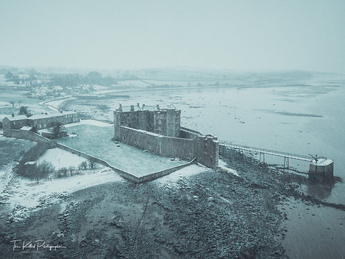 Snowstorm Blackness Castle