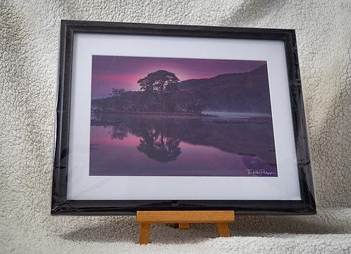 Sunrise over Loch Awe - Framed