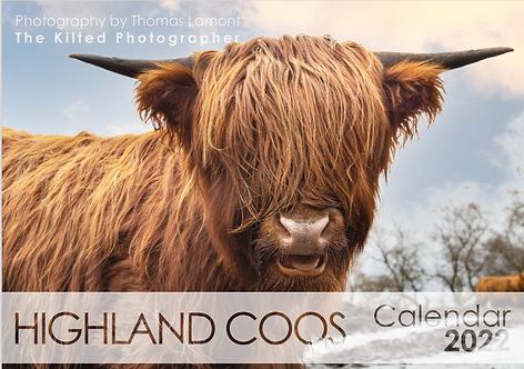 2022 Calendar - Highland Coos