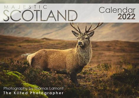 2022 Calendar - Majestic Scotland