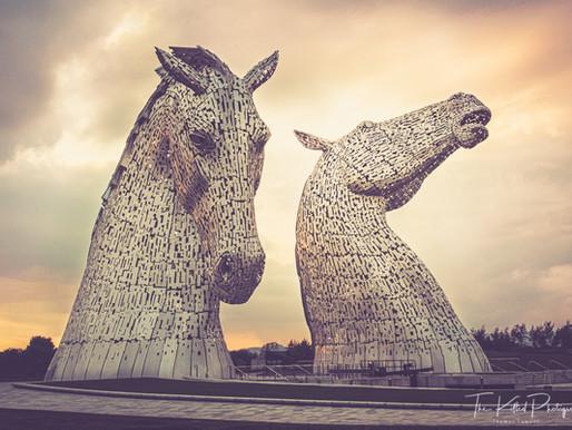 The Kelpies, Scotland.