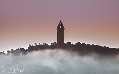 Wallace Monument at Sunrise