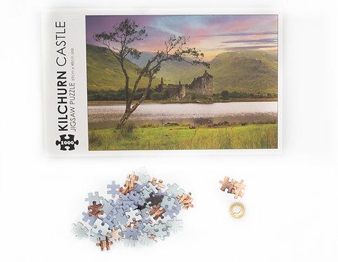 Kilchurn Castle Jigsaw - 1000 piece