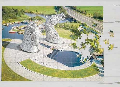 The Kelpies Jigsaw - 1000 piece