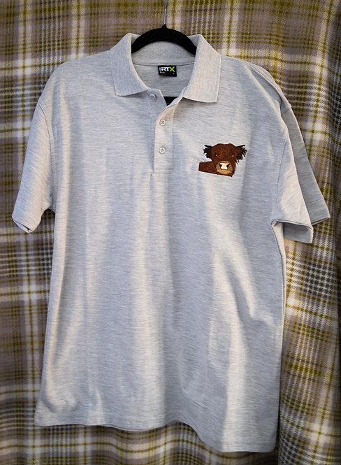 Highland Coo Polo Shirt