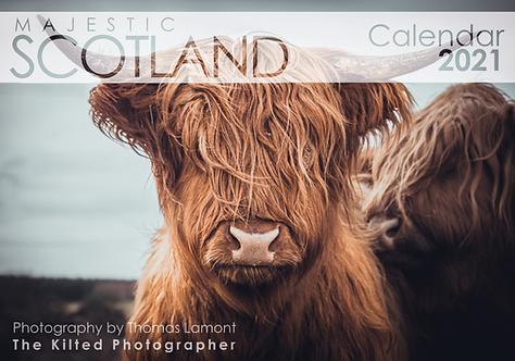 2021 Calendar - Majestic Scotland