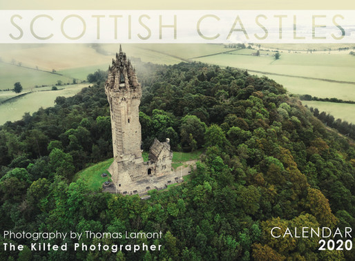 Scottish Castles 2020 Calendar - Now on sale!