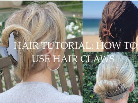Hair Tutorial: How to wear HairClaws