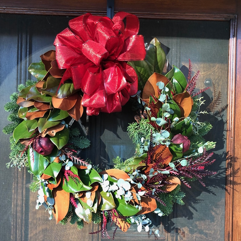 Private Workshop: Holiday Wreath