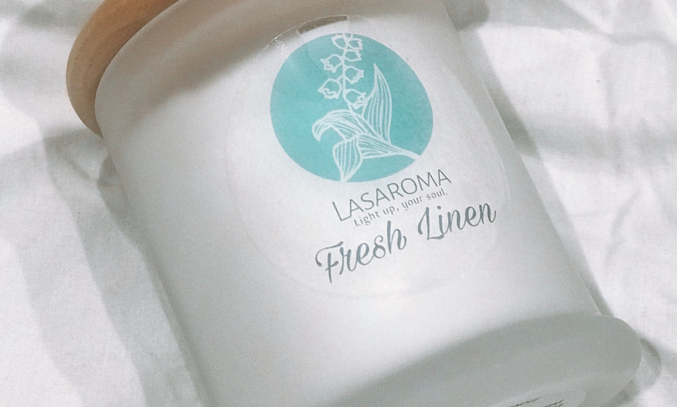 Fresh Linen - Coconut Soy Candle
