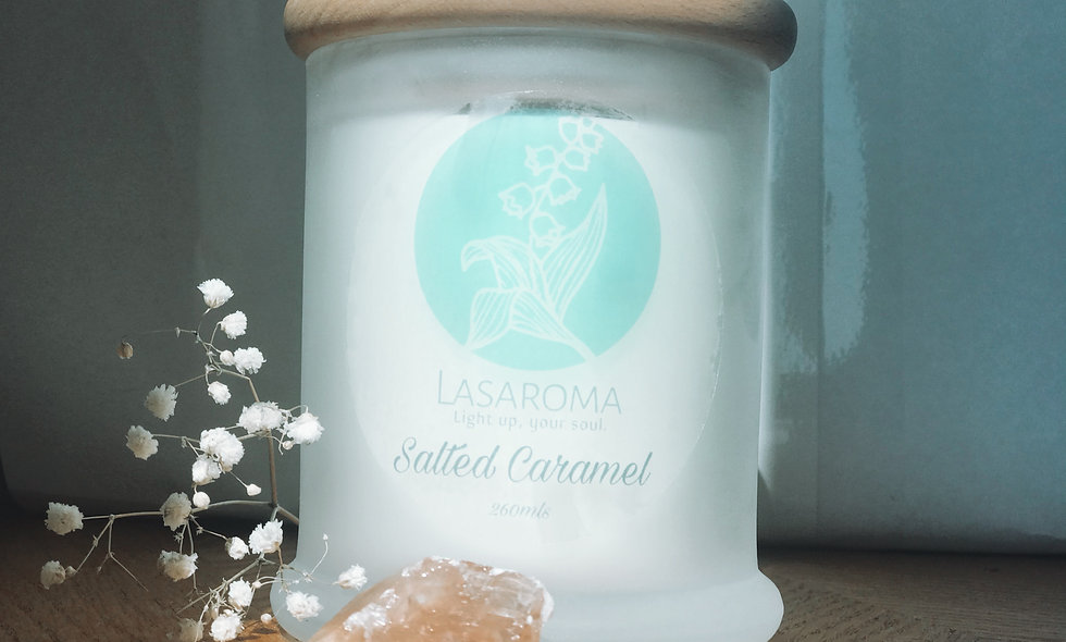Salted Caramel - Coconut Soy Candle