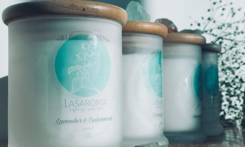 Pure Cedarwood & Lavender Essential Oil - Coconut So