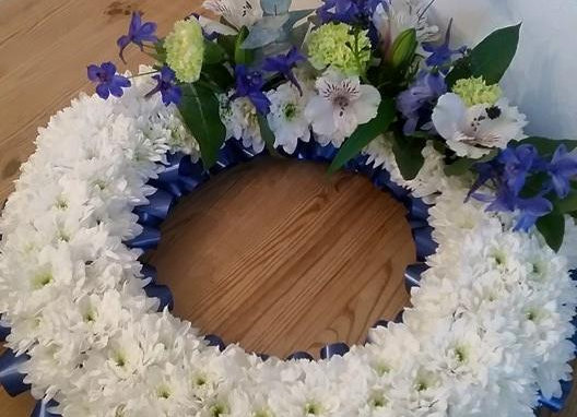 Large Open Wreath