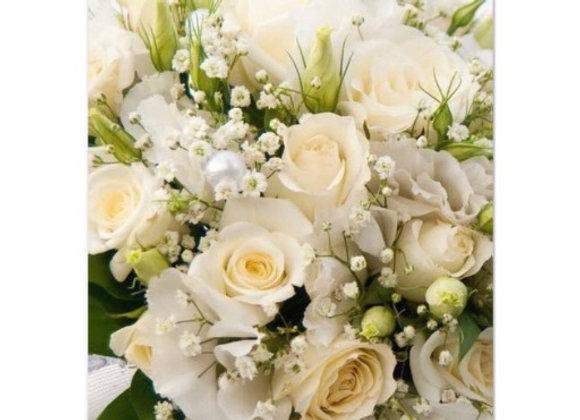 Cream & White Bouquet