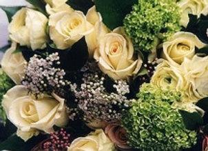 Silver & Whites Bouquet