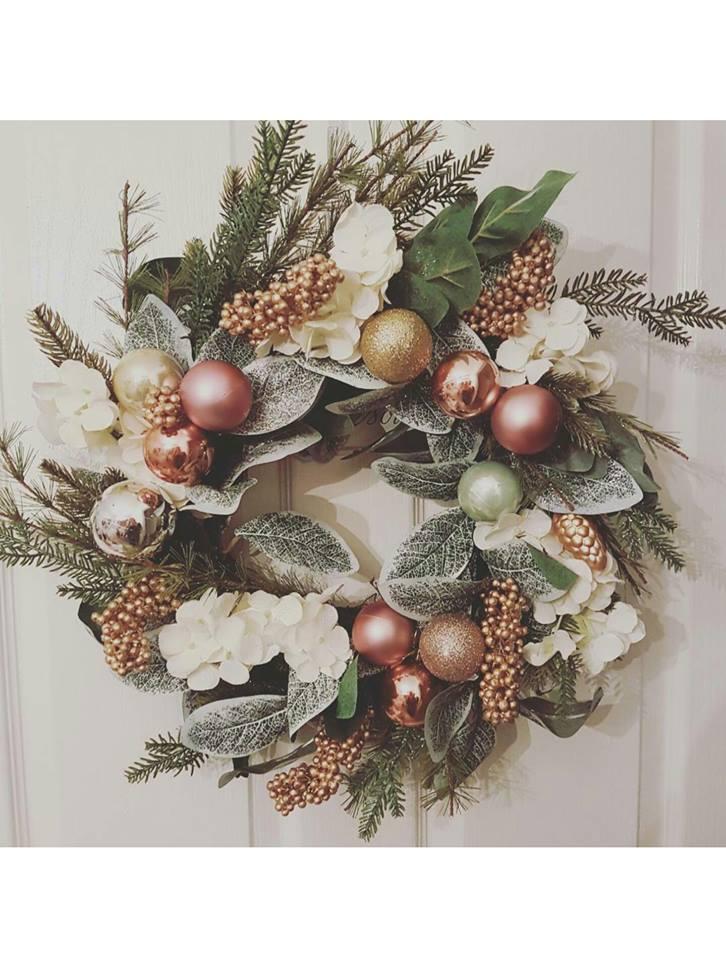 Silk/Artificial Wedding Wreath