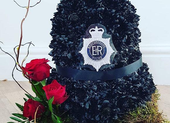 Policeman Helmet Tribute