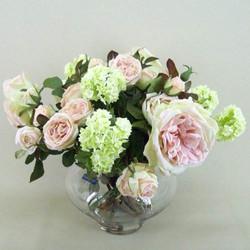 Artificial Flower Arrangements Pink Roses