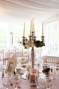 Artificial Wedding Table Flowers