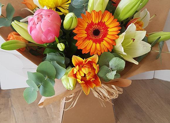 Florists Choice Bright Hand Tie