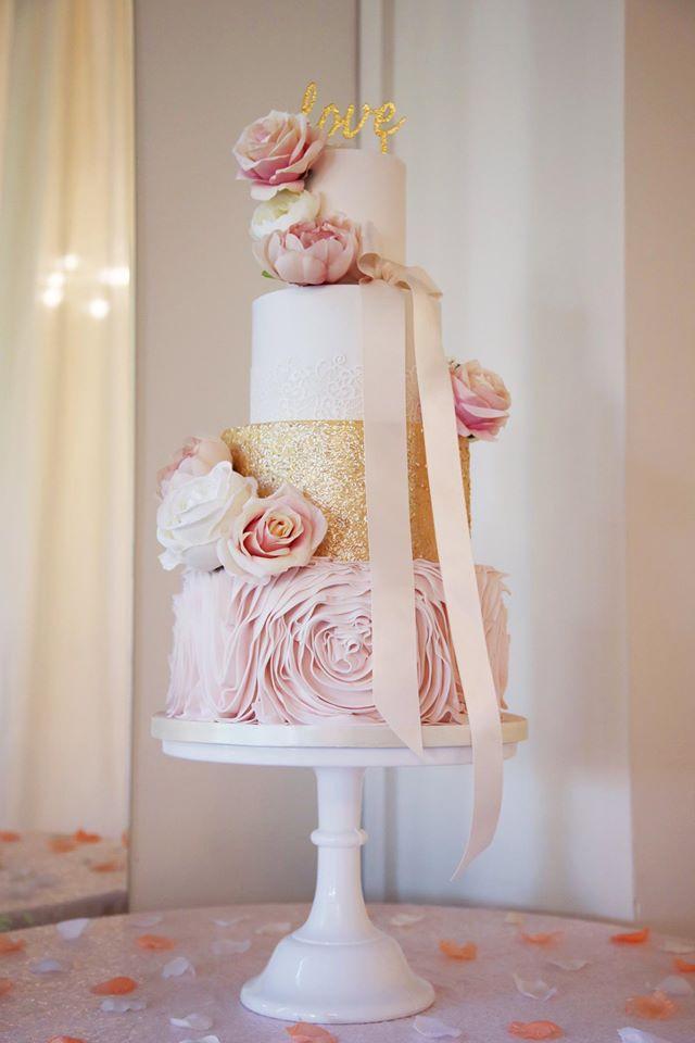 Silk/Artificial Cake Flowers